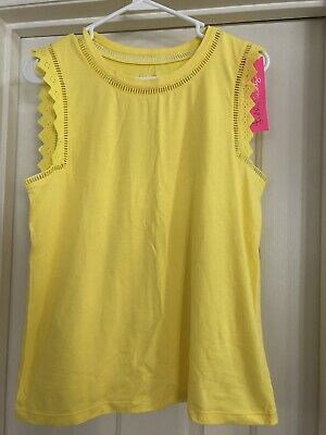 $58 • Buy NWT Lilly Pulitzer Agee Top Sz Med In ST Tropez Yellow