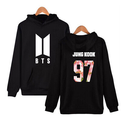 $19.95 • Buy X-Large BTS Hoodie - JUNGKOOK Hooded Pullover XL Sweater Bangtan Boys Jeong-guk