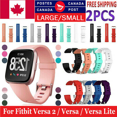 $ CDN9.99 • Buy For Fitbit Versa 2 / Versa / Versa Lite Replacement Silicone Watch Band Strap