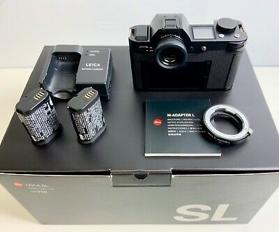 View Details Leica SL Digital Camera 24MP + Spare Battery | Boxed • 1,995.00£