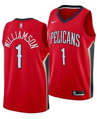 $24.99 • Buy Zion Williamson Jersey Pelicans Stitched. Really Good Condition. Only Worn Once