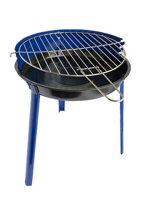 Grill Chef Patio Barbecue BBQ Grill Small Portable Adjustable Height  • 26.90£