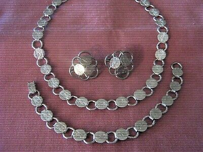 $5.99 • Buy Sarah Coventry Parure ~ Necklace/Bracelet & Earring Set ~  Young 'N Gay  ~ 1959