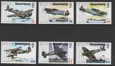 Guernsey 2000 60th Anniversary Of the Battle Of Britain MNH (6) • 0.95£
