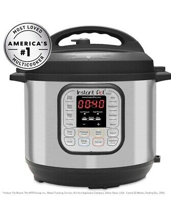 $39.99 • Buy Brand New Instant Pot Duo Mini 7-in-1 3qt Electric Pressure Cooker - Silver