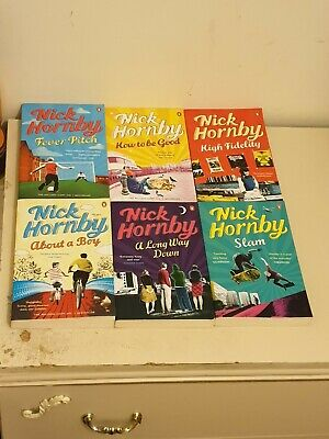 Nick Hornby About A Boy Bundle (6 BOOKS) ALL NEW Paperback Series • 9.99£