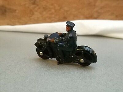 DINKY 37b POLICE MOTORCYCLE BIKE ALL ORIGINAL.   • 22.99£