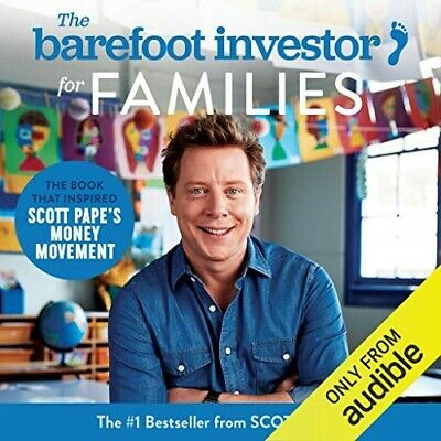 AU10 • Buy The Barefoot Investor For Families Audiobook By Scott Pape