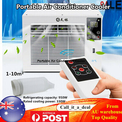 AU289 • Buy 950W Portable Air Conditioner Cooler Window Refrigerated Cooling Remote Control