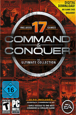 AU10.99 • Buy Command & Conquer - The Ultimate Collection - PC EA Origin Digital Code - Global