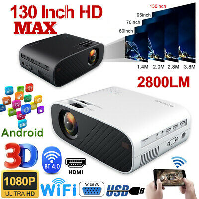 AU174.95 • Buy AN12 Portable HD 1080P Mini Wifi Bluetooth Movie Projector Home Theatre HDMI USB