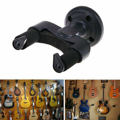 $ CDN4.85 • Buy Guitar Hanger Stand Holder Hook Wall Mount Rack Display Acoustic Electric Bass