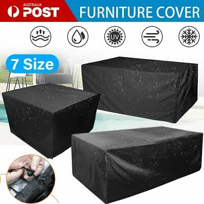 AU28.89 • Buy 1X Outdoor Furniture Cover Garden Patio Rain UV Table Protector Sofa Waterproof
