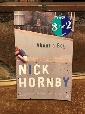 About A Boy By Nick Hornby (Paperback, 2000) Penguin Books • 1.35£