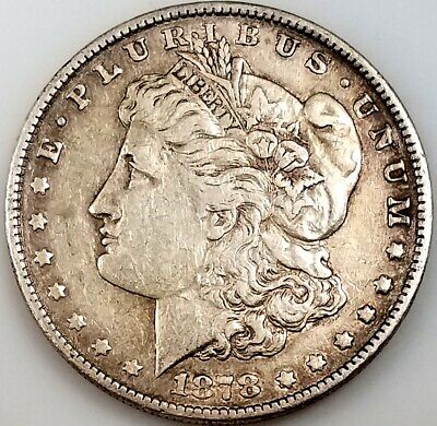 $19.50 • Buy 1878 Morgan Silver Dollar! 1st Year Of The Series! NO RESERVE!