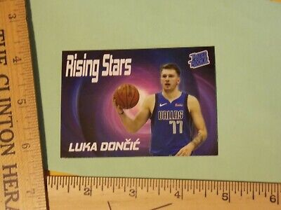 $1.25 • Buy  LUKA DONCIC 2018 RATED Rookie Card RC Rising Stars Mavs Trading Cards