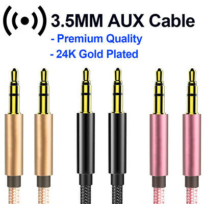 £0.99 • Buy Aux Cable Audio Lead 3.5mm Jack To Jack Stereo Male For Car PC Phone MP3 IPod