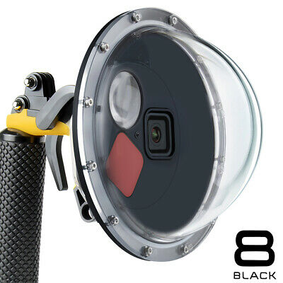AU71.12 • Buy 45m Underwater Filter Switchable Dome Port Waterproof Dive Case For GoPro Hero 8