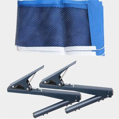AU30.99 • Buy Professional Standard Table Tennis Net With Clamp Post Stand For Indoor Outdoor