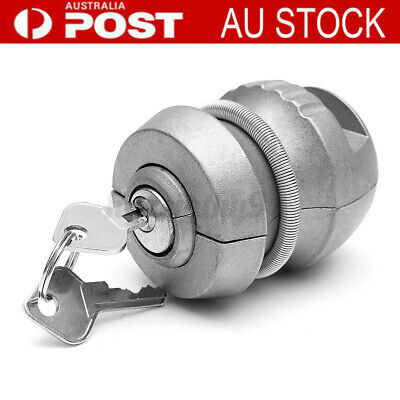AU22.79 • Buy Premium Trailer Coupling Hitch Lock Part Tow Ball Caravan Anti Theft Tool Kit AU