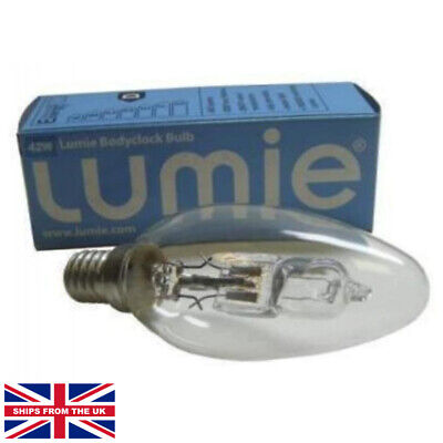 Lumie Bodyclock Halogen Bulb 42W Fully Dimmable • 7.54£