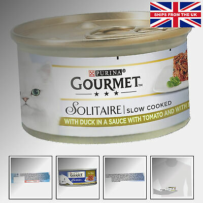 Gourmet Solitaire Duck And Vegetables, 85 G - Pack Of 12 Prime Morsels Duck • 12.95£