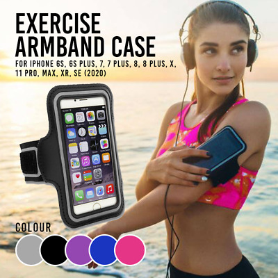 AU4.99 • Buy Sports Armband Running Strap IPhone 11 Pro / MAX / X / SE / 7Plus / 8 / 8Plus