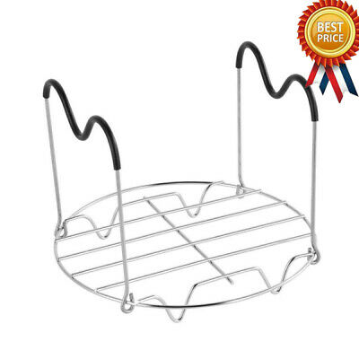 $9.99 • Buy Steamer Rack Trivet With Handles Compatible With Instant Pot Accessories 6 Qt 8