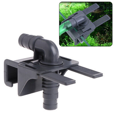Aquarium Water Pipe Connector Fish Tank Mount Holder Inflow Outflow Stretchable • 4.95£