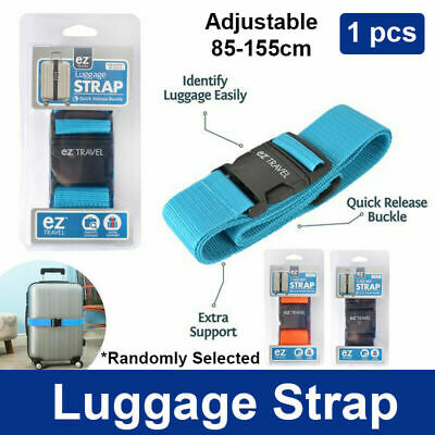 AU6.98 • Buy Add A Bag Luggage Strap Jacket Gripper Straps Baggage Suitcase Belt Travel 1Pc
