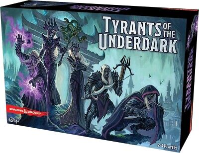 AU75.99 • Buy Board Games--Dungeons & Dragons - Tyrants Of The Underdark Board Game
