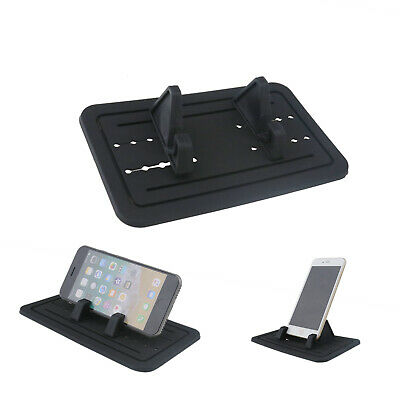 Sticky Silicone Pad Car Dashboard Mount Holder Cradle For Cell Phone Below 7  • 8.35£