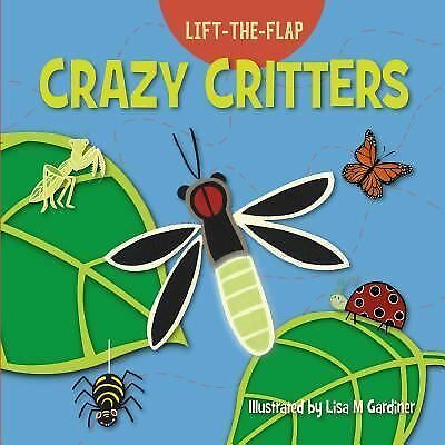 £22.87 • Buy Crazy Critters [Lift-the Flap]