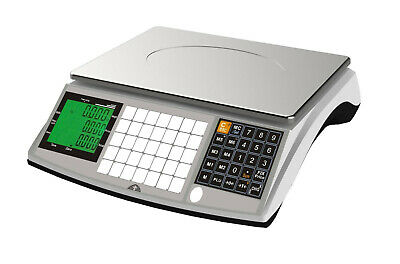 15kg Retail Shop Scales Dual Display Trade Approved Ideal For Butchers Meat Deli • 129.99£