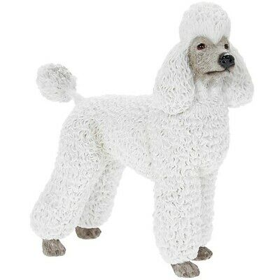 £12.99 • Buy Poodle White Dog Ornament Figurine Gift Boxed