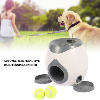 AU44.99 • Buy Pet Dog Tennis Ball Automatic Fetch Toys All For Paws Pet Interactive Ball Toy