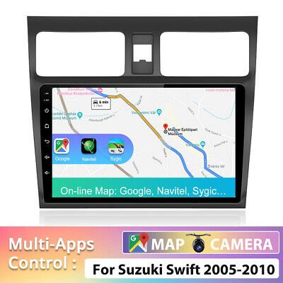 AU246.39 • Buy Car Stereo For Suzuki Swift Android 10.0 Navi Dash GPS Head Unit Player MP5 WIFI