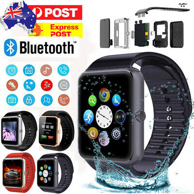 AU28.29 • Buy GT08 Bluetooth Smart Watch Phone Wrist Touch Screen Watch SIM GPS For Android