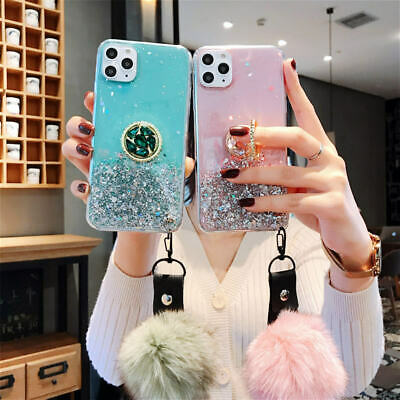 AU18.99 • Buy For IPhone 11 Pro Max XR Xs X 7 8 Fashion Phone Case With Ring Stand Hand Strap