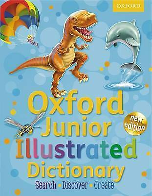 Oxford Junior Illustrated Dictionary By Oxford University Press (Mixed Media Pr… • 5.49£