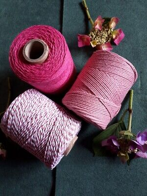 £2.50 • Buy Pinks Selection Of Bakers Twine. 5 10 Or 20 Metre Lengths
