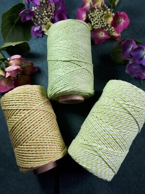 £1.70 • Buy Greens Selection Of Bakers Twine. 5 10 Or 20 Metre Lengths