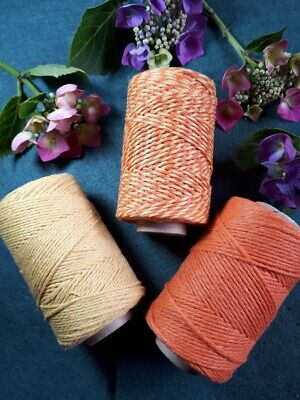 £1.70 • Buy Oranges Selection Of Bakers Twine. 5 10 Or 20 Metre Lengths