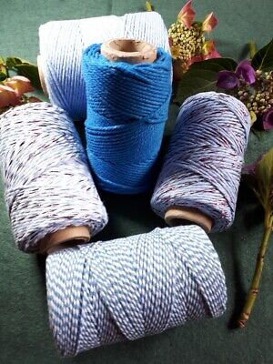 £1.70 • Buy Blues Selection Of Bakers Twine. 5 10 Or 20 Metre Lengths