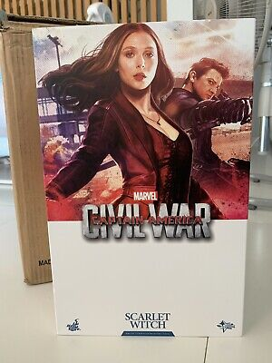 $ CDN876.16 • Buy Hot Toys 1/6th Scarlet Witch Mms370 - Captain America Civil War - Wanda Figure