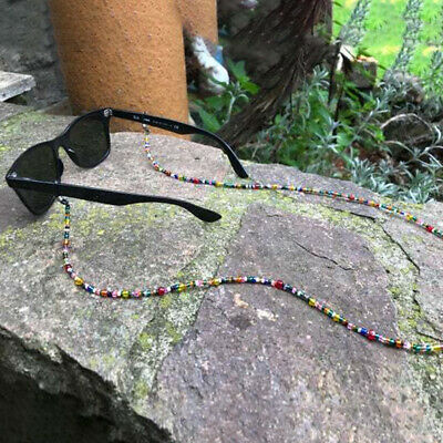 Spectacle/Sun Glasses Chain/Cord Mixed Colour 3mm Beads Jewellery UK • 2.68£