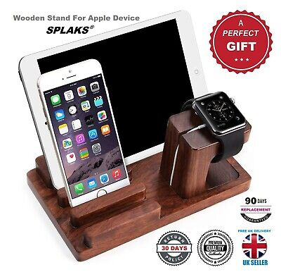 Apple Watch Stand, Charge Dock Holder For IPad, IPhone & Apple Watch • 17.20£