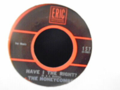 The Honeycombs   Have I The Right   Usa Eric Reissue Ex+ Cond.  • 1.65£
