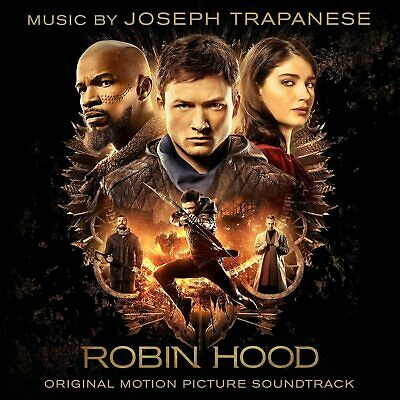 Robin Hood (Original Soundtrack) (NEW & SEALED CD 2018) Joseph Trapanese • 11.99£