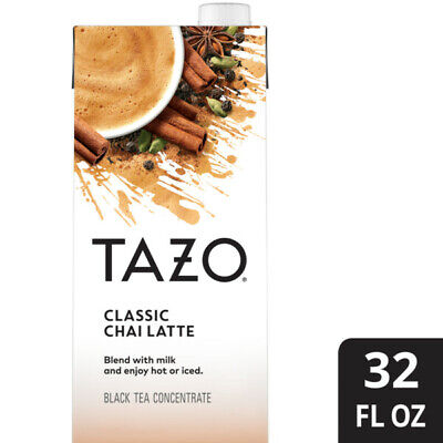Tazo Concentrate Chai Latte Tea - 32 Oz - ( Pack Of 12 ) • 45.63£